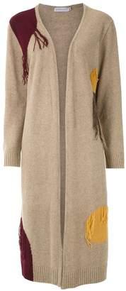 M·A·C Mara Mac fringe detail cardi-coat