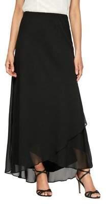 b707a57936 Alex Evenings Tulip-Hem Chiffon Maxi Skirt