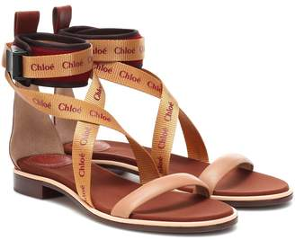 Chloé (クロエ) - Chloé Veronica leather sandals