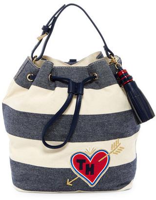 Tommy Hilfiger Summer of Love Sling Backpack $128 thestylecure.com