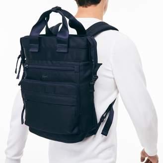 Lacoste Men's Techni-City Lightweight Nylon Backpack Tote