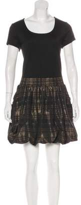 MICHAEL Michael Kors Scoop Neck Mini Dress
