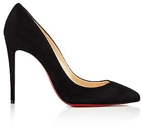 christian louboutin pigalle suede pumps black