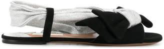 L'Autre Chose front bow sandals
