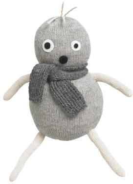 Lucky Boy Sunday Pop Grey Alpaca Wool Soft Toy