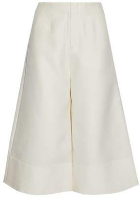Co Wool Cotton Silk And Cashmere-Blend Culottes