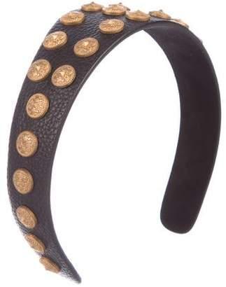 Valentino Gryphon Studded Headband w/ Tags