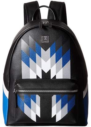 MCM Stark Medium Diamond Backpack