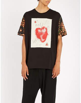 Vivienne Westwood Camouflage-print cotton-jersey T-shirt