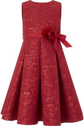 Monsoon Ruby Jacquard Dress