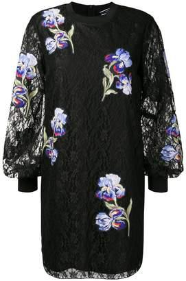 Sportmax floral embroidered mini dress