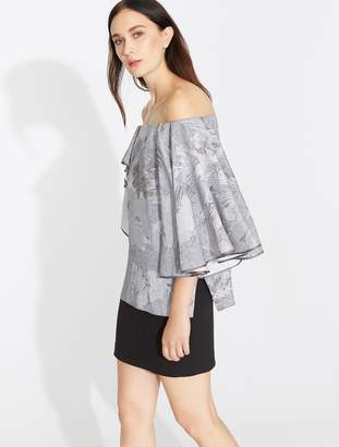 Halston Off Shoulder Top