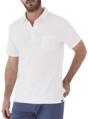 eb9e2c9b4f72 Faherty Men s Sunwashed Short-Sleeve Polo Shirt with Pocket