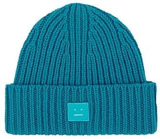 Acne Studios Mini Pansy Wool Beanie - Blue