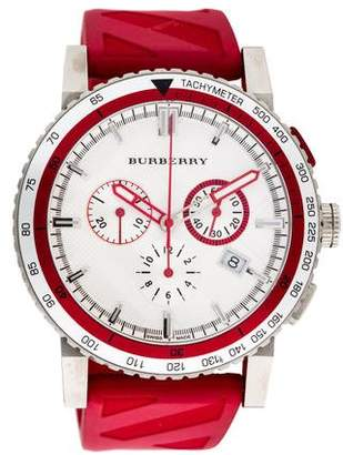 Burberry The City Chronograph Watch