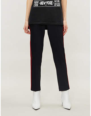 Zadig & Voltaire Pomelo cropped crepe trousers