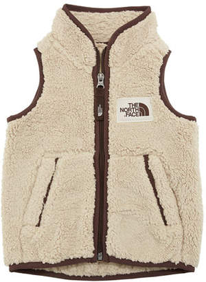 The North Face Campshire Sherpa Fleece Vest, Size 2-4T