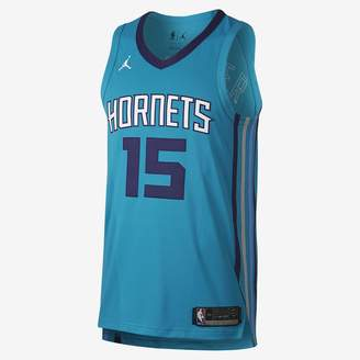 Kemba Walker Icon Edition Authentic Jersey (Charlotte Hornets) Men's Jordan NBA Connected Jersey