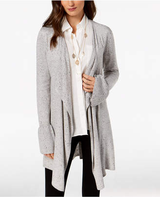 Style&Co. Style & Co Bell-Sleeve Draped Cardigan, Created for Macy's