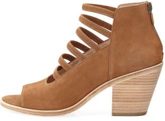 Eileen Fisher James Strappy Nubuck Sandals