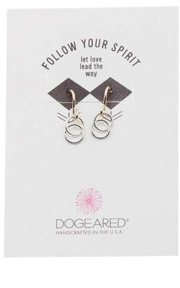Dogeared Let Love Lead The Way Dangle Earrings