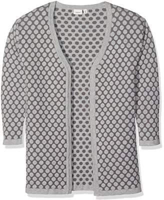 Name It Girl's Nitibif Ls Long Knit Card NMT Cardigan,(Manufacturer Size: -152)