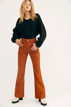 Free People Ribcage Cord Flare Jeans