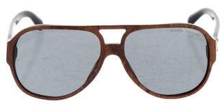 Ralph Lauren Tinted Shield Sunglasses