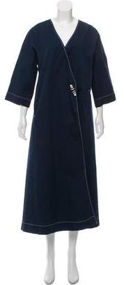 Ganni Oversize Long Coat