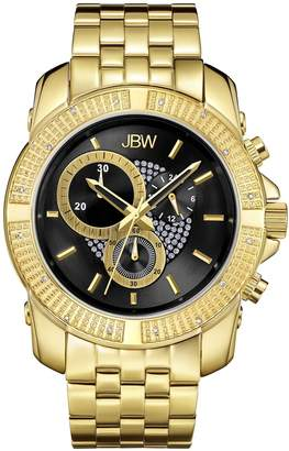 JBW Men's J6331A Warren Analog Dial Gold Plated Stainless Steel Watch