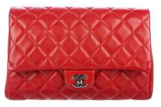 Pre Owned At Therealreal Chanel Quilted New Clutch