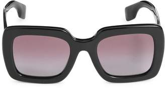Burberry 52MM Square Sunglasses