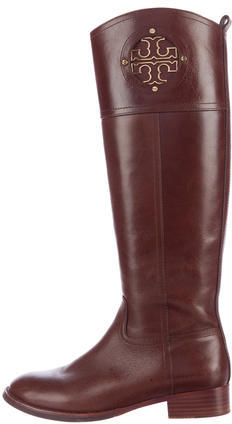 Tory Burch Tory Burch Leather Riding Boots