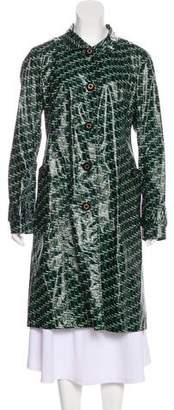 Tory Burch Rain Knee-Length Coat