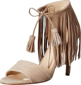 Kenneth Cole New York Women's Mylah Fringe High Heel Dress Heeled Sandal