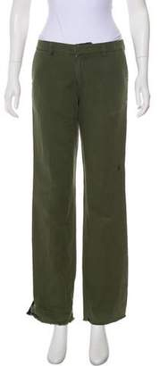 Golden Goose Mid-Rise Straight Pants