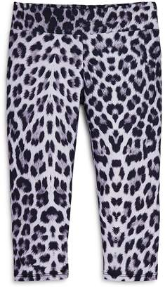Onzie Girls' Leopard Capri Print Leggings