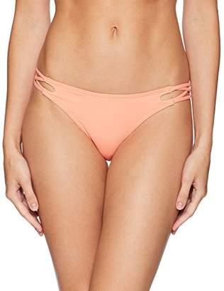O'Neill Women's Salt Water Solids Criss Cross Bikini Bottom,M