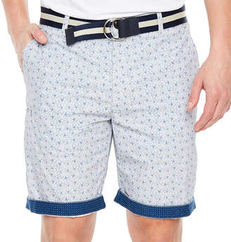 SOCIETY OF THREADS Society Of Threads Mens Mid Rise Stretch Chino Shorts