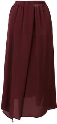 Christian Wijnants asymmetric mid-length skirt
