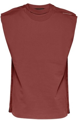 Y/Project Multi Layered Cotton Tank Top - Mens - Burgundy