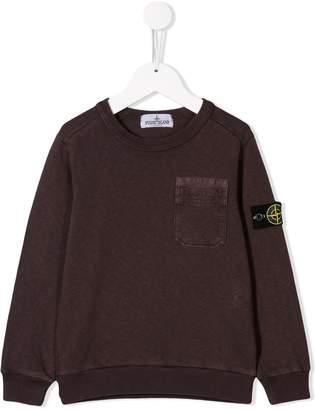 Stone Island Junior classic brand sweater