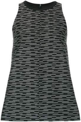 Victoria Beckham Victoria patterned sleeveless blouse