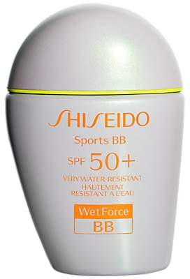 Shiseido WetForce Sports BB SPF 50+ Tinted Moisturiser