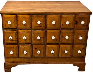 One Kings Lane Vintage 19th-C. Apothecary Cabinet - Von Meyer Ltd.