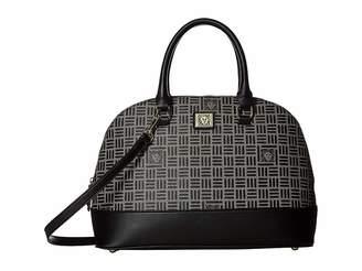 Anne Klein Lion Logo Dome Satchel Satchel Handbags