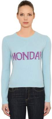 Alberta Ferretti Slim Monday Wool & Cashmere Sweater