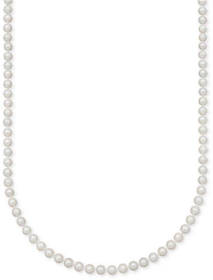 Belle de Mer A Cultured Freshwater Pearl Strand Necklace (7-1/2-8-1/2mm) in 14k gold