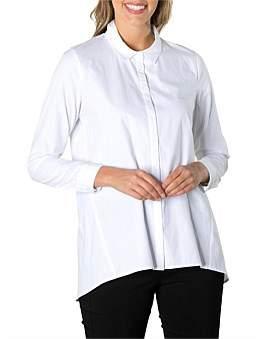 Marc O'Polo Marco Polo Long Sleeve Longline Classic Shirt