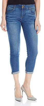 """Democracy Women's """"Ab""""solution Booty Lift Crop Jeans"""